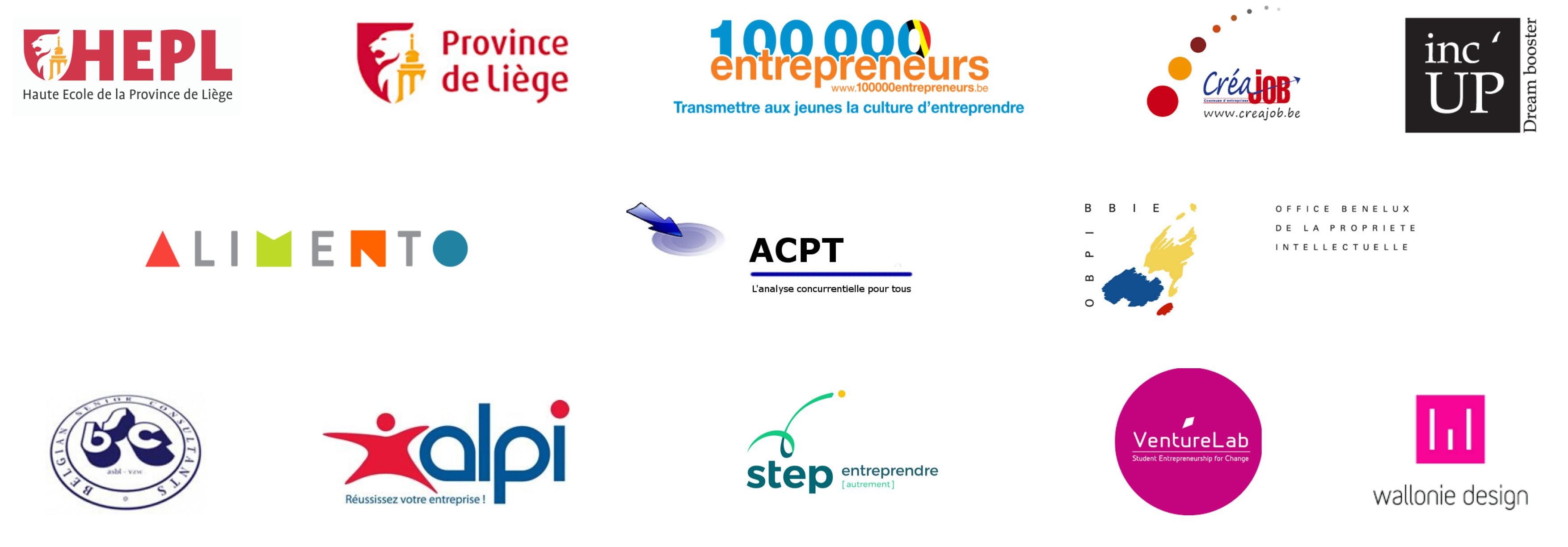 Partenaires du jour - YEP Day Liège